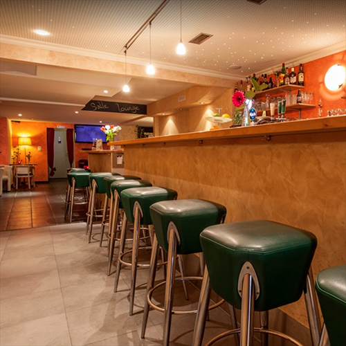 Le bar du Kalaya à Yverdon